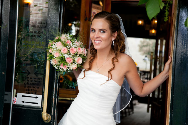 real wedding rick en daisy