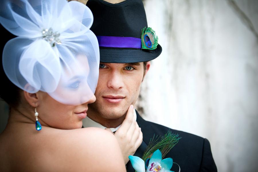 bruidegom pauwen