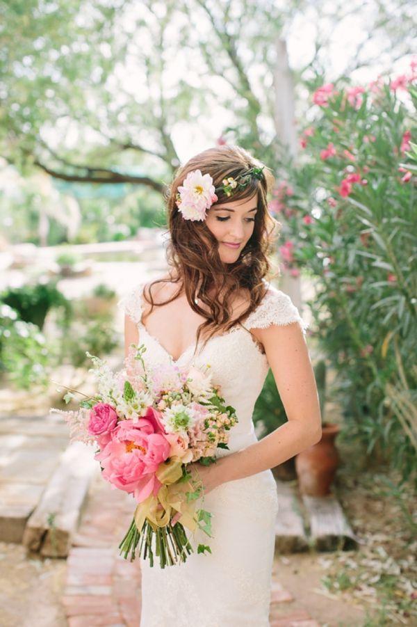 bruid los haar