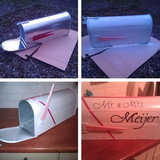 brievenbus bruiloft