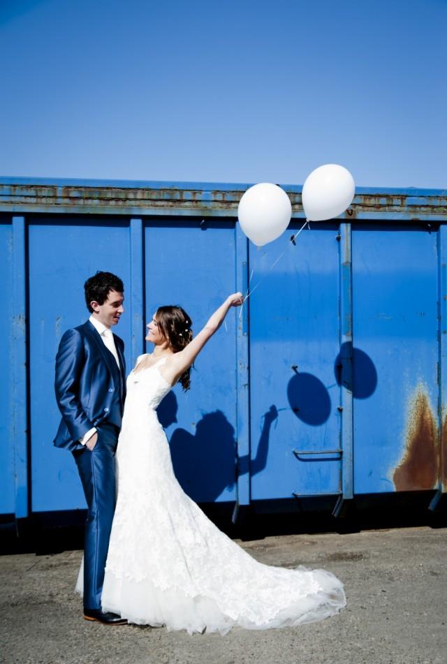 Ballonnen trouwdag