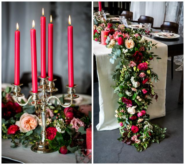 tablesetting bloemen