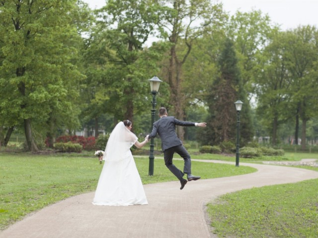 bruidspaar park