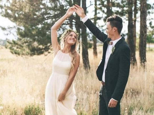 6 bewegingen die je moet kunnen maken in je trouwjurk