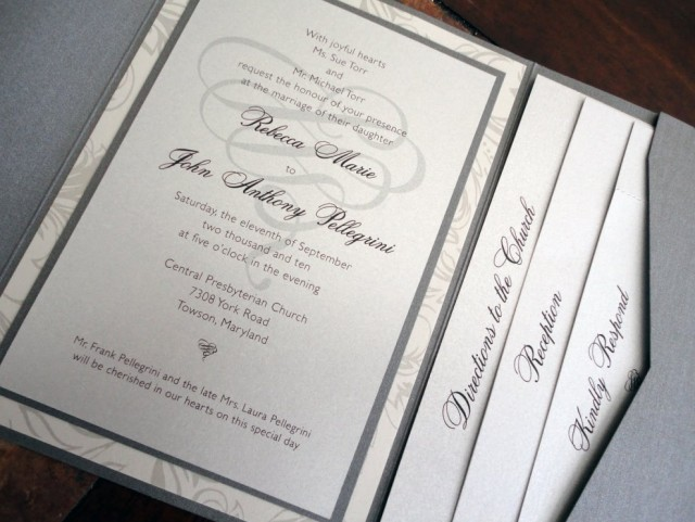 Dresscode vermelden trouwkaart