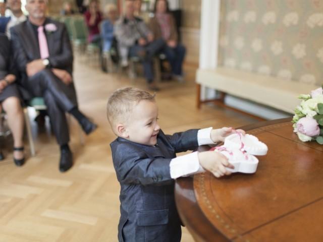 zoon bruidspaar