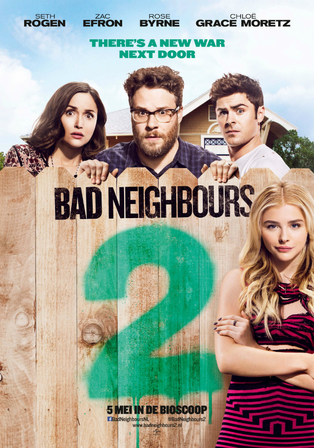 Filmposter Bad Neighbours 2
