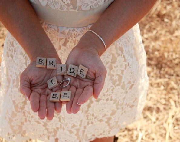 Drive-in show bruiloft