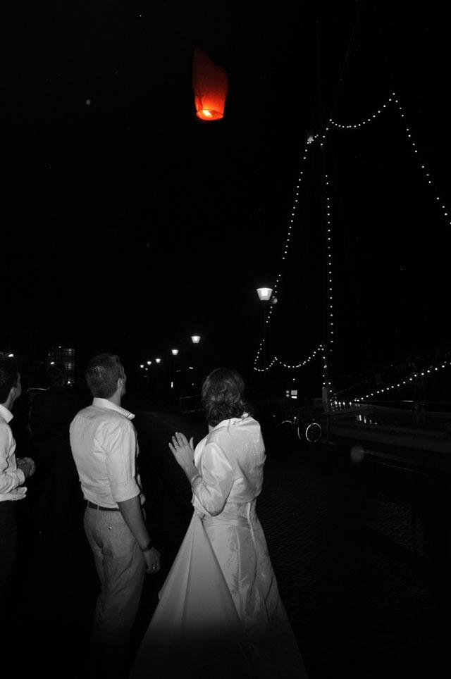 bruidspaar getrouwd