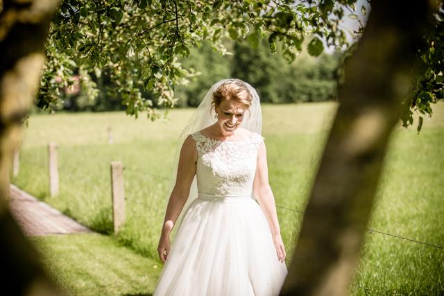 eerste moment bruid