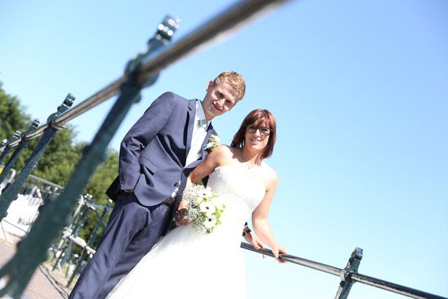 bruidspaar trouwen