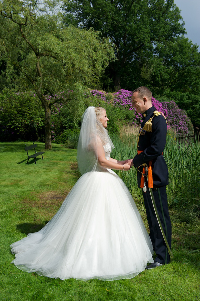 real wedding tuin