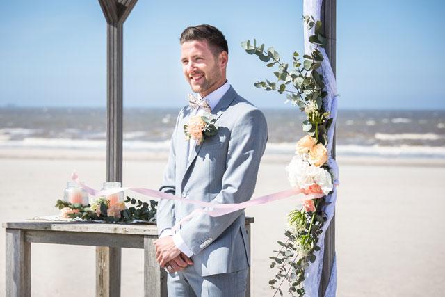 bruidegom strand