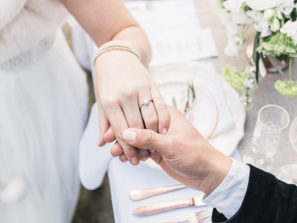 Aan welke hand draag je de trouwring