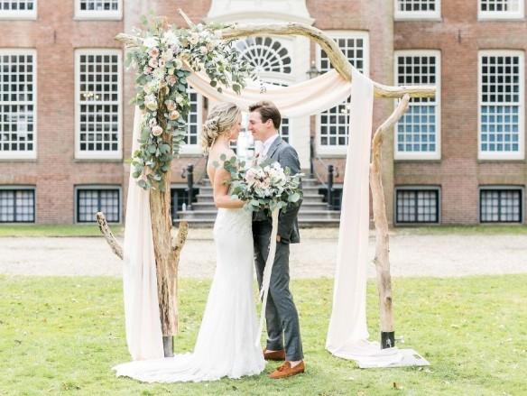 Backdrop voor je bruiloft