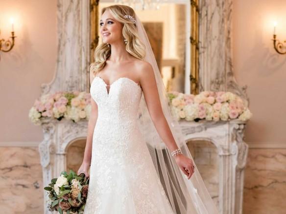 De mooiste a lijn trouwjurken voor de klassieke bruid