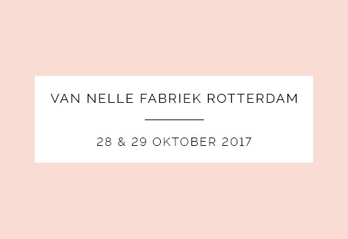 Love and Marriage Beurs Van Nelle Fabriek Rotterdam