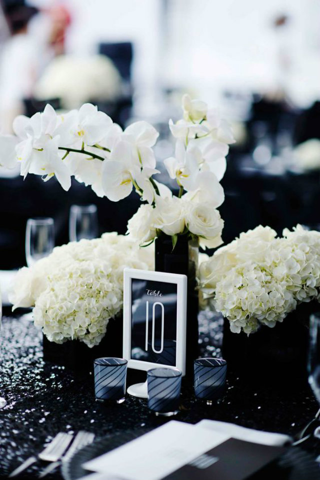 center pieces zwart