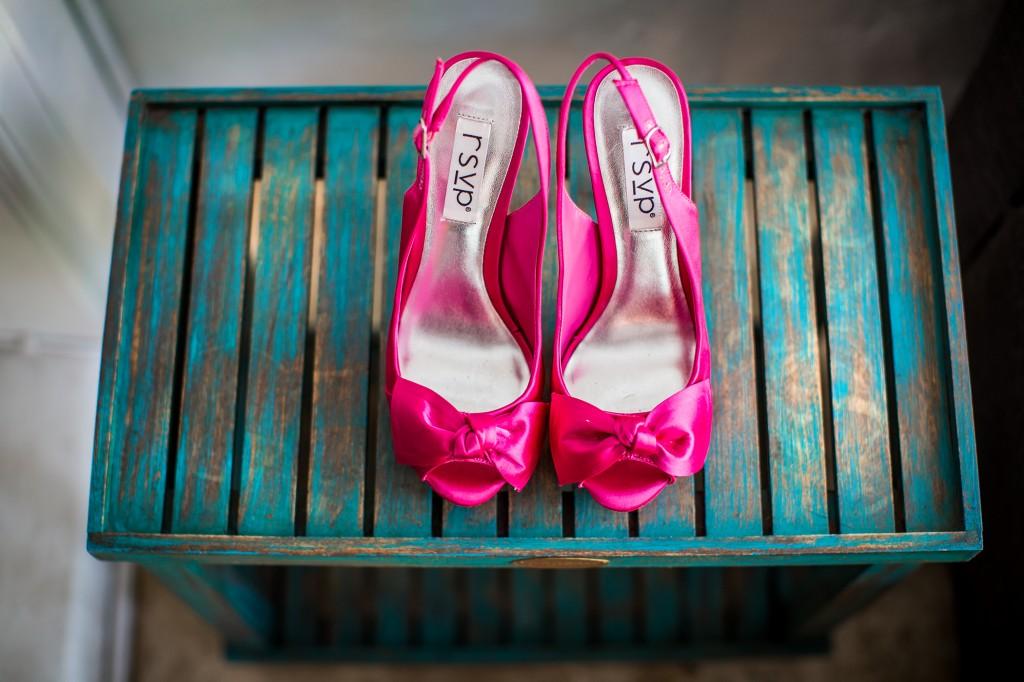 De perfecte bruidsschoenen