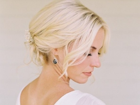 Bruidskapsels voor kort haar