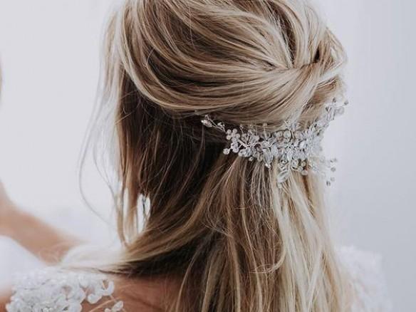 Bruidskapsels voor lang haar
