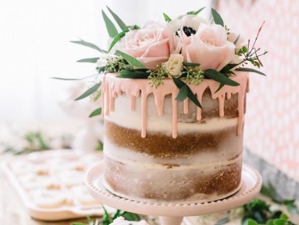 Bruidstaarten trend drip cake