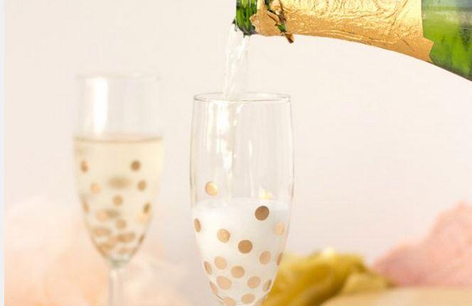 champagneglazen voor bruiloft