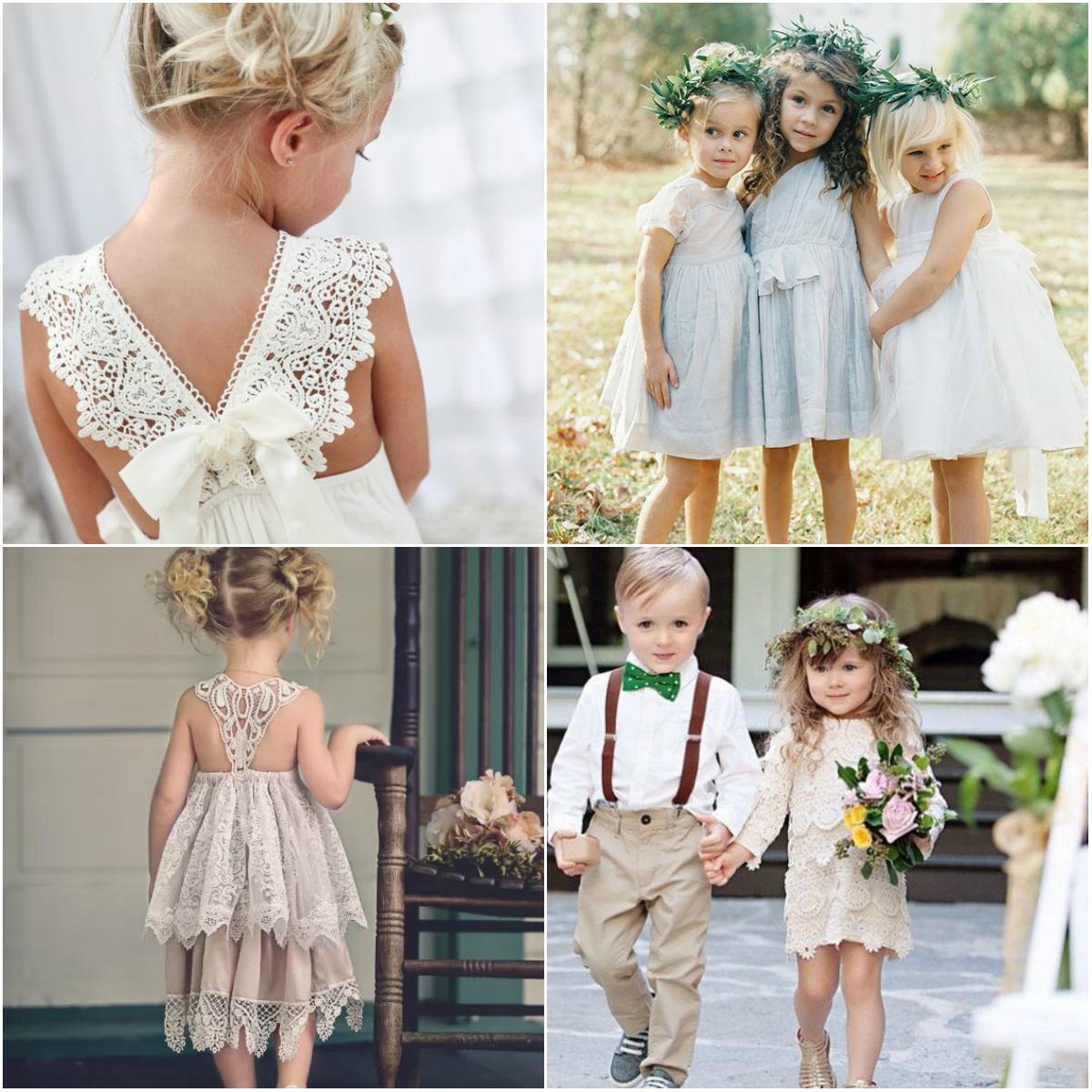 Jurk Bruiloft Kind.Inspiratie Voor De Outfits Van De Kinderen Op Bruiloft