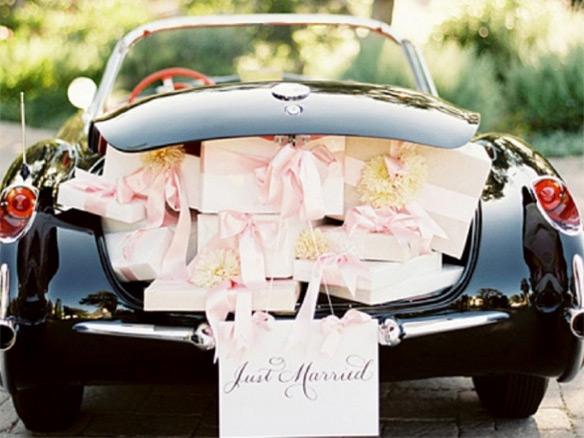 De tradities en etiquette van trouwvervoer