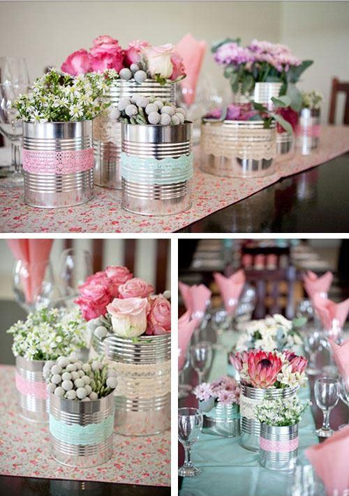 decoratie voor je statafels op je bruiloft