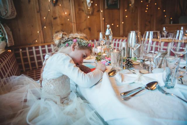 diner bruidsmeisje