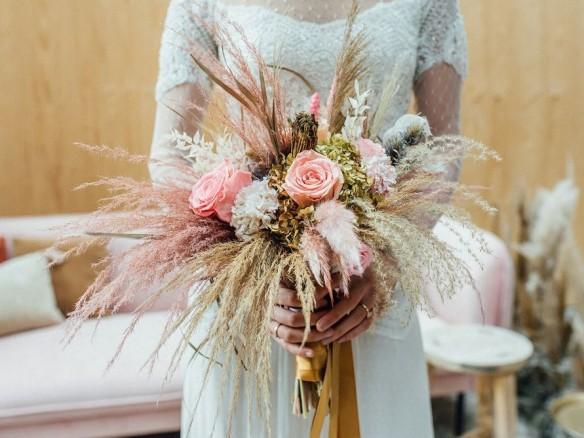 Droogbloemen op je bruiloft