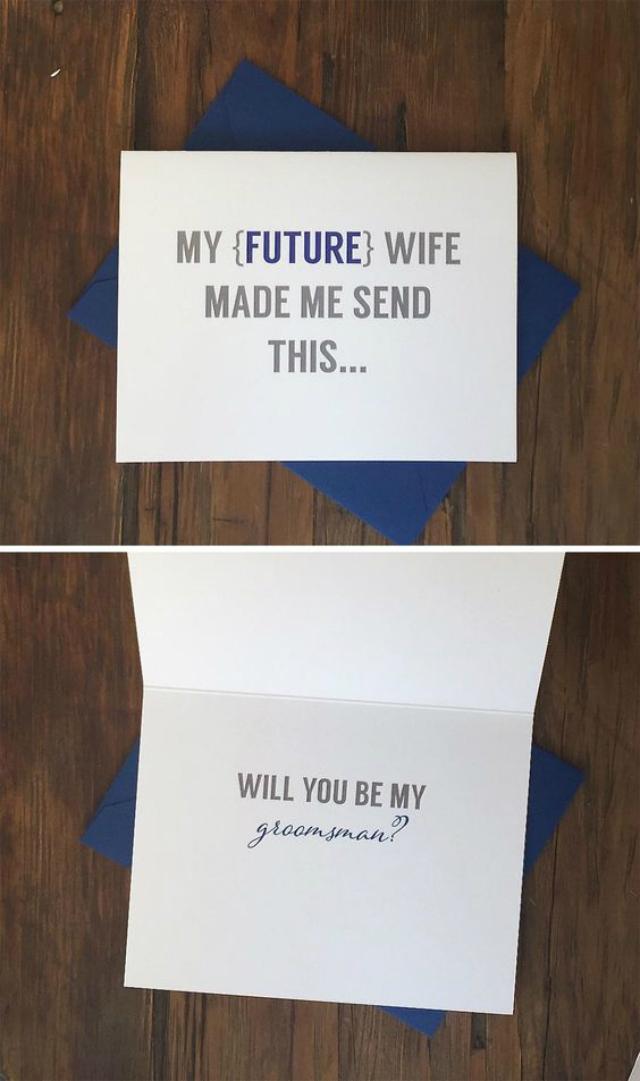 getuigen vragen bruidegom