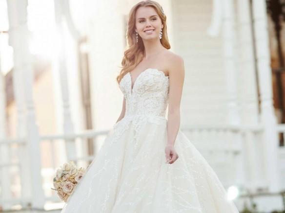 Glamoureuze trouwjurken