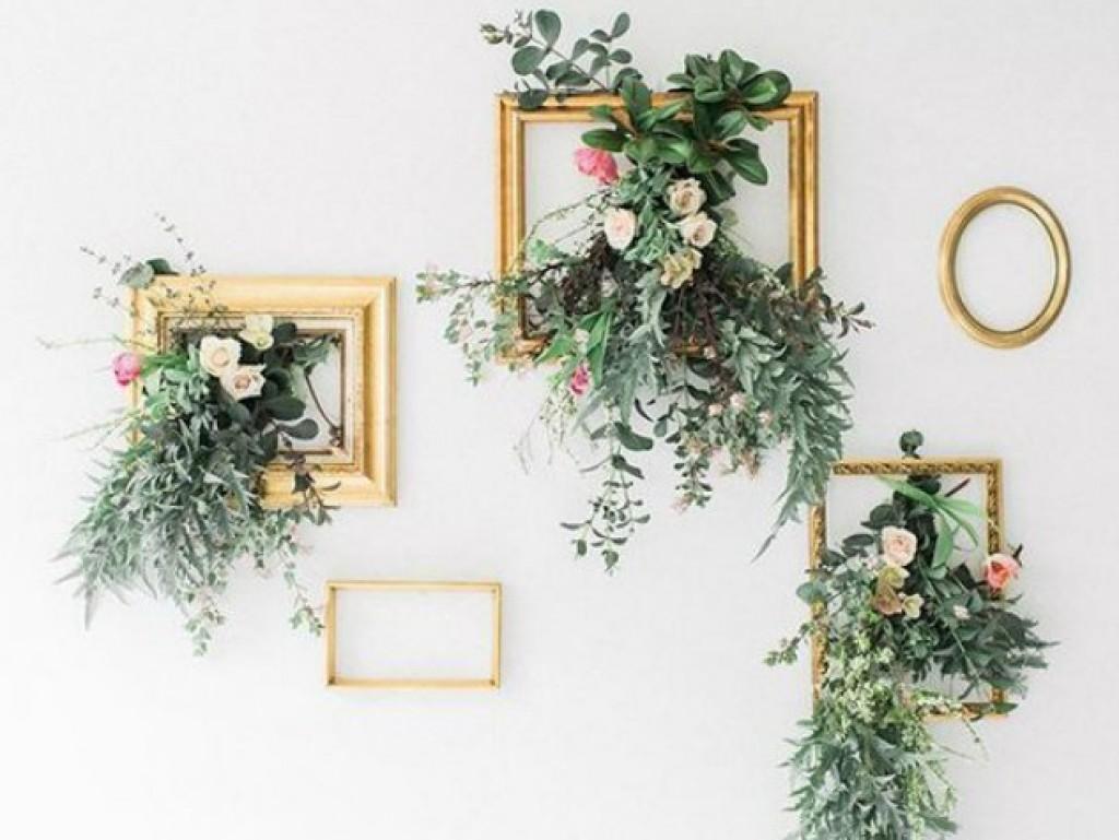 Hangende bloemdecoratie