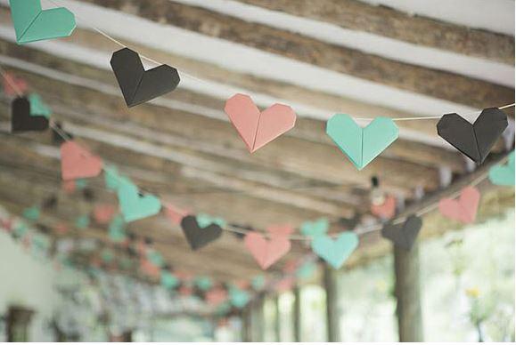 Origami als decoratie op je bruiloft for Bruiloft versiering zelf maken