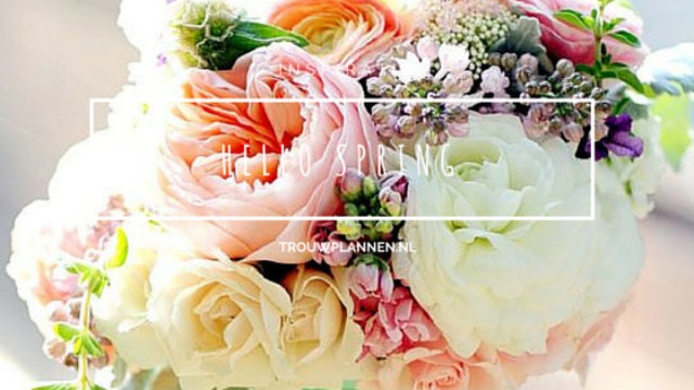 thema lente bruiloft