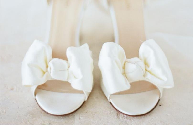 hoge hakken trouwdag