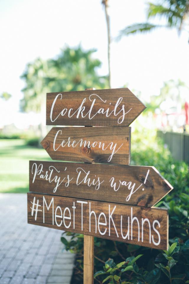 bordjes trouwen hashtag