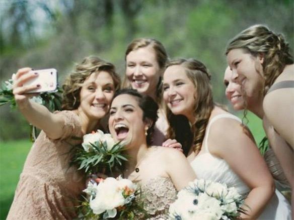 Instantselfie op jullie bruiloft