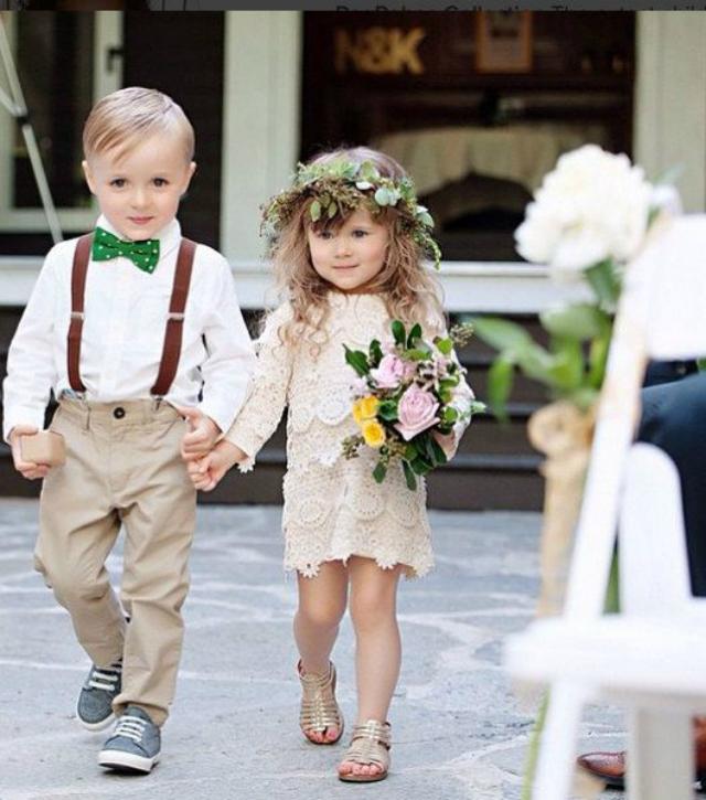 kinderen bruiloft