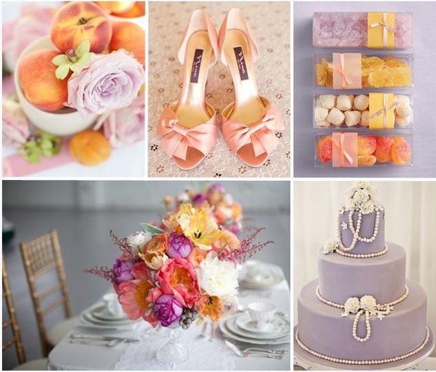 kleuren thema bruiloft
