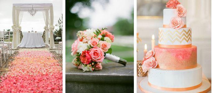 bruiloft trendkleur