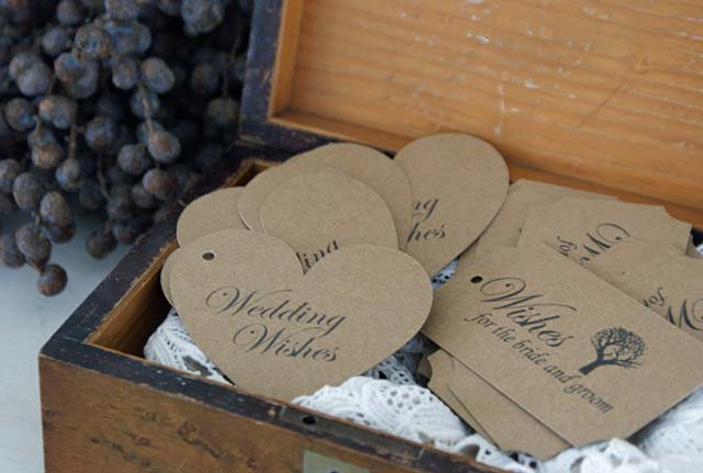 Verwonderlijk Labels op je bruiloft II-04