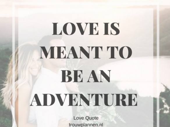 love quote adventure
