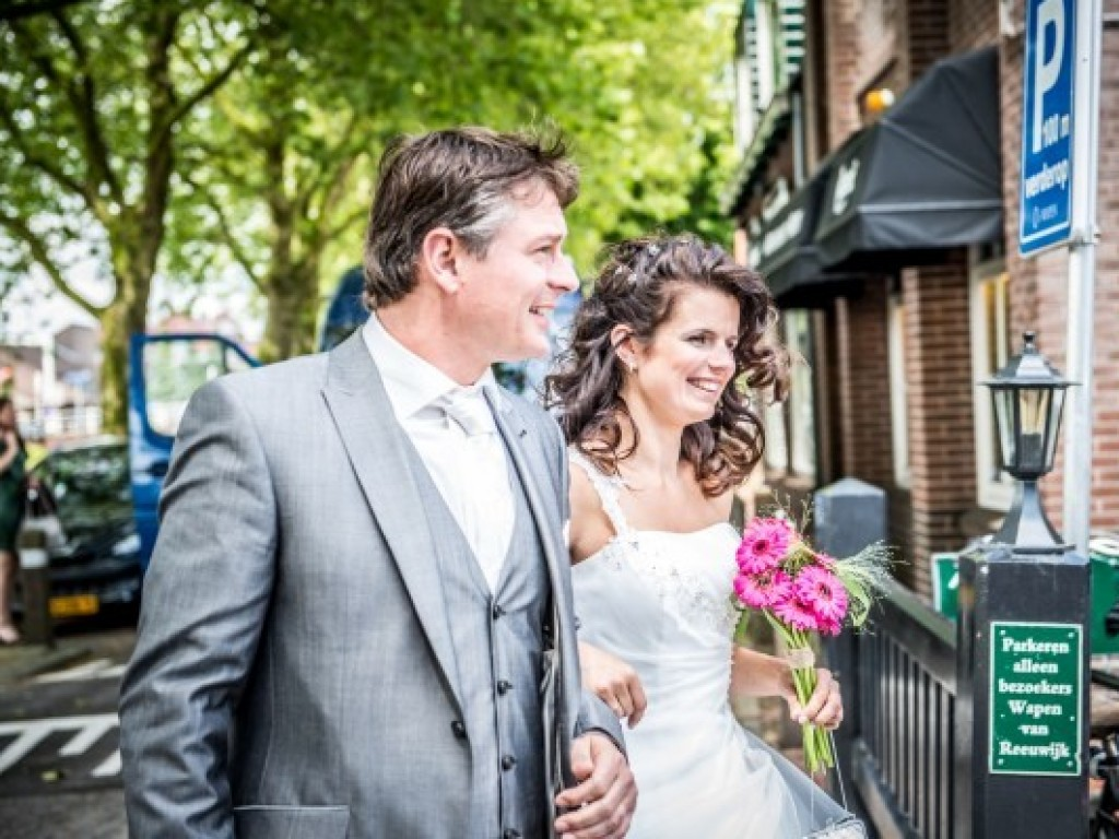 real wedding frank en anne mieke