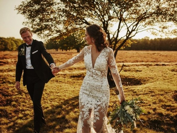 Real wedding frank en magdalena