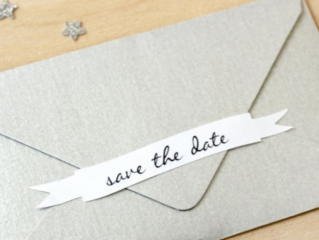 save the date kaart maken