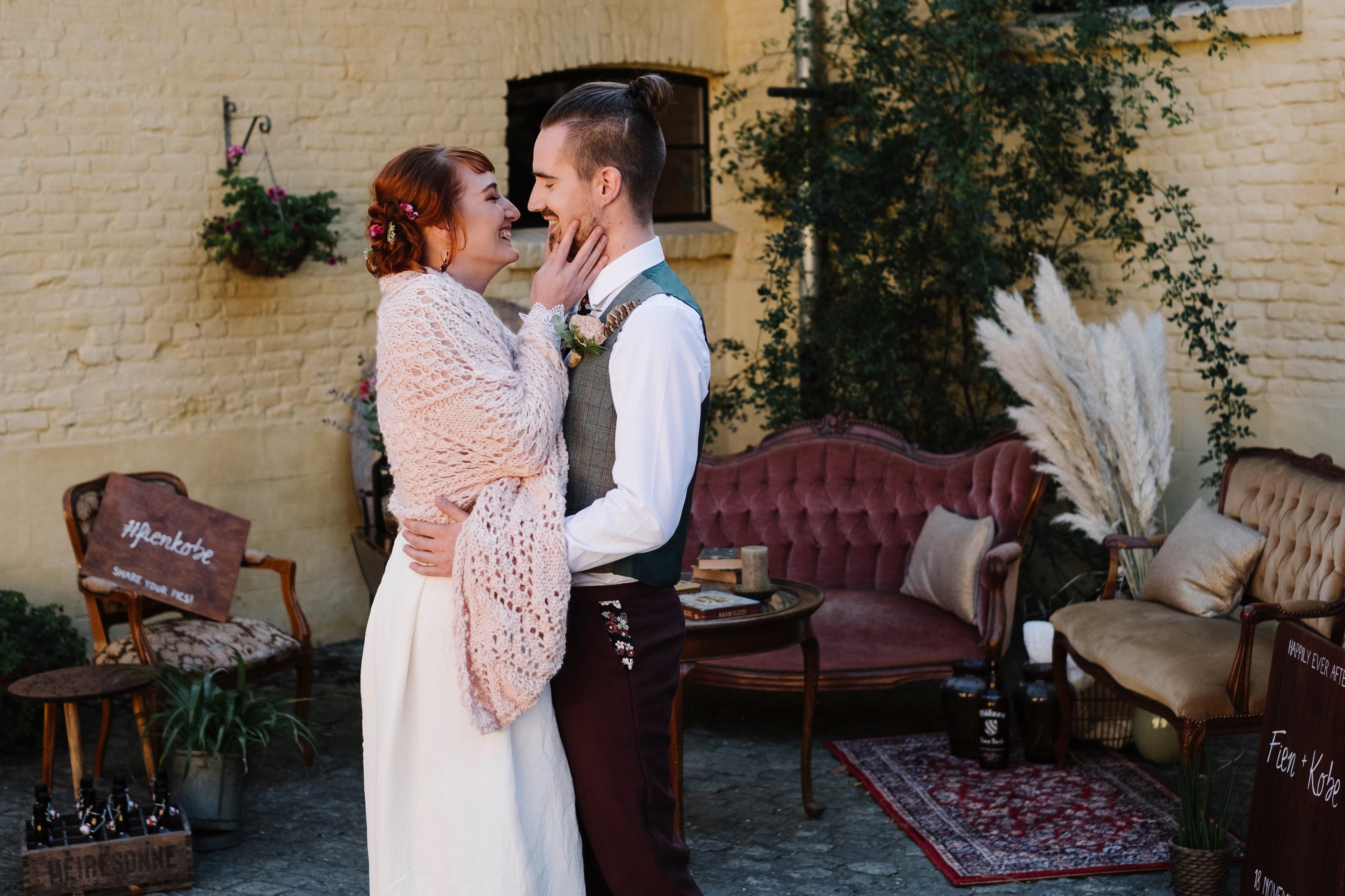 trouwblog shoot buiten bruiloft outdoor