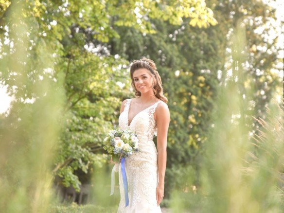styled shoot a blue wedding in italiaanse sferen